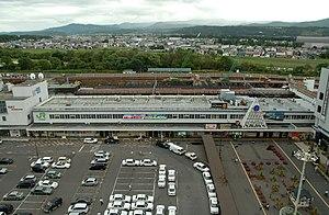 Asahikawa Station - Asahikawa Station in August 2006 before rebuilding