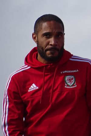 Ashley Williams (footballer) - Williams during Wales' post-Euro 2016 homecoming party
