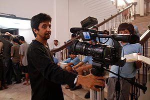 Ashvin Kumar - Ashvin Kumar shooting for Dazed in Doon in The Doon School (2010)
