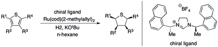Asymmetric Hydrogenation of Thiophenes.tif