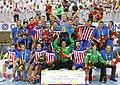 Atletico Madrid handball team.jpg
