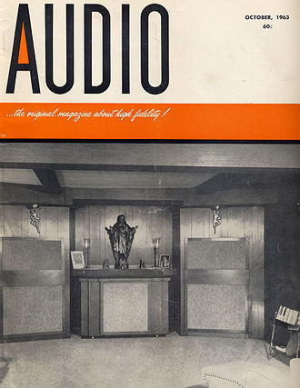 Audio (magazine) - Cover of Audio, October 1963