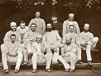Australia national cricket team - The Australian team that toured England in 1878