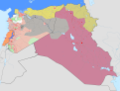 Average territorial frontlines of the Syrian, Iraqi, and Lebanese Civil War in 2017.png