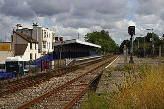 Avonmouth railway station - Avonmouth station in 2009