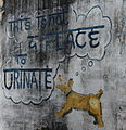 Awareness street art pondy.JPG