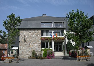Ax-les-Thermes - The Town Hall