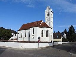 Aystetten Pfarrkirche alt St Martin v S