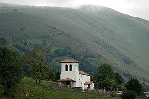 Béhorléguy - The church of the Assumption, in Béhorléguy