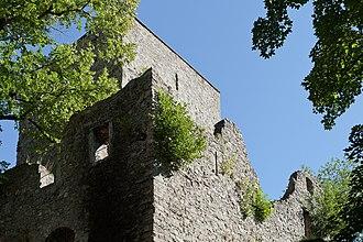Frutigen - Ruins of Tellenburg Castle