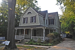 National Register of Historic Places listings in Durham County, North Carolina - Image: BASSETT HOUSE, DURHAM COUNTY, NC