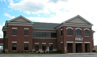 BB&T - Typical branch office. Located in Lexington, North Carolina
