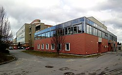 BC CAS, Institute of Parasitology, animal building (01).jpg