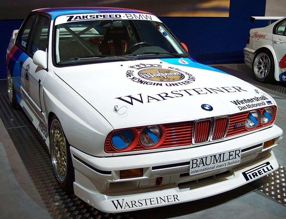 BMW M3 E30 >> File:BMW M3 Gruppe A DTM 2,3 1987 vr TCE.jpg - Wikimedia Commons