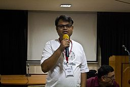 BNWIKI10-Sumit Surai Intro-Wikipedia 10th Anniversary Celebration
