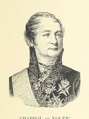 Gaspard de Chabrol - Comte de Chabrol de Volvic