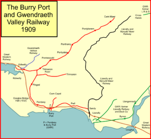 Burry Port and Gwendraeth Valley Railway - Image: BP&GVR
