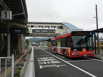 Ōfunato Line - Image: BRT Sakari stn 01