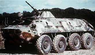 Uzbek Ground Forces - Image: BTR 60PB DA ST 89 06597
