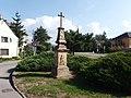 Babice (OL), kříž na místě bývalé kaple.jpg