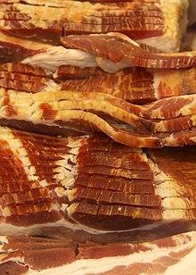 Strisce di bacon