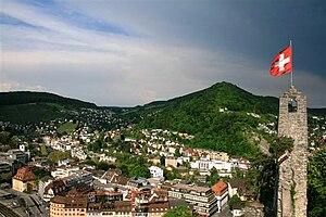 Ennetbaden - Image: Baden Stein Ennetbaden 3746