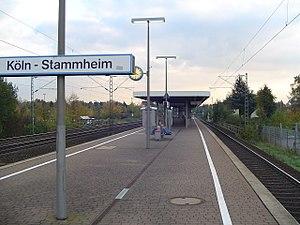 Fahrplan S6 Köln Stammheim