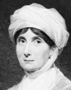 Scottish literature in the eighteenth century - Engraving of playwright Joanna Baillie