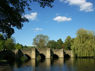 Bakewell - Bakewell's medieval bridge