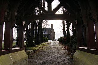Upper Ballinderry - Ballinderry Middle Church, built 1668