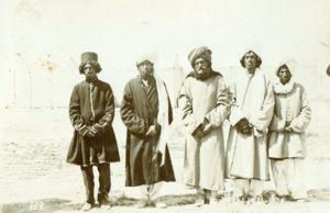 Baloch people - Sardar Ibrahim khan Sanjrani Iranian Baloch Khans in Qajar era, c. 1884