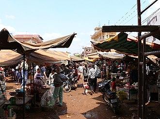 Ratanakiri Province - A local market in Banlung