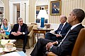 Barack Obama and Joe Biden meet with Kathryn Ruemmler and FBI Director Robert Mueller, 2012.jpg