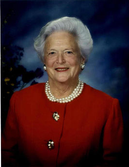 Barbara Bush in 1999