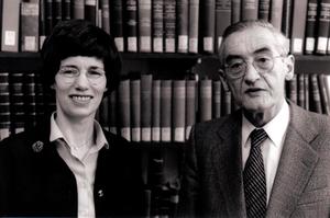 Barbara Aland - Barbara and Kurt Aland (1988)