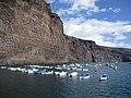 Barcas fondeadas dentro del Muelle de Vueltas.jpg