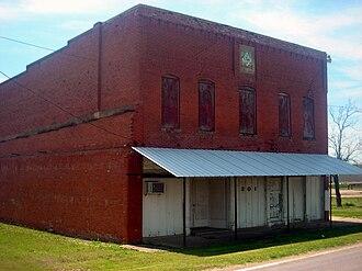 Bardwell, Texas - The Masonic Lodge in Bardwell until 2013