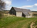 Barn at Brownrigg - on the St.Cuthbert's Way long distance footpath - geograph.org.uk - 396598.jpg