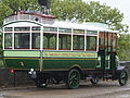 Barnsley & District ET bus 5 (HE 12), 1913 Leyland S3 Brush, Crystal Palace Park, 6 May 2006 (02).jpg