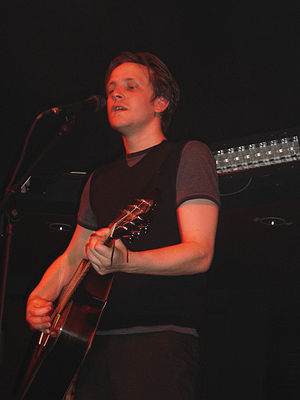 The Futureheads - Barry Hyde, lead vocals, guitarist