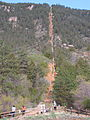 Base of the Manitou Incline May 2013.jpg