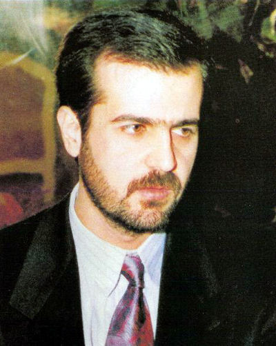 Bassel al-Assad, Bashar's older brother, died in 1994, paving the way for Bashar's future presidency. Basil assad.JPG
