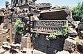 Basilica Complex, Qanawat (قنوات), Syria - East part, mausoleum- Christian sarcophagus - PHBZ024 2016 1510 - Dumbarton Oaks.jpg