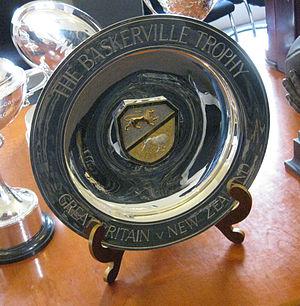 Baskerville Shield - Image: Baskerville Trophy 2