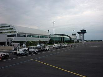 Bastia – Poretta Airport - Image: Bastiaairporttermina l