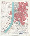 Baton Rouge Port Allen Map Louisiana 1963.jpg