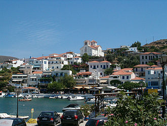 Andros - Batsi village