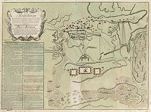 Battle of Stavuchany - Map of Battle of Savuchny (in Russian and German)