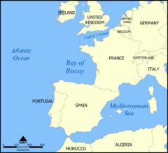 ビスケー湾とは - goo Wikipedia ...