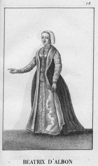 Beatrice of Viennois - 1827 image